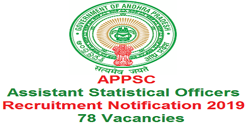 APPSC Assistant Statistical Officer Recruitment 2019
