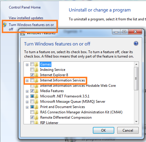 Step by Step Install IIS on Windows 7 | Render Web Solutions