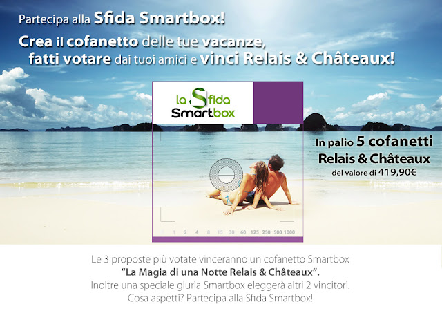 sfida smartbox vinci il cofanetto Relais&Châteaux