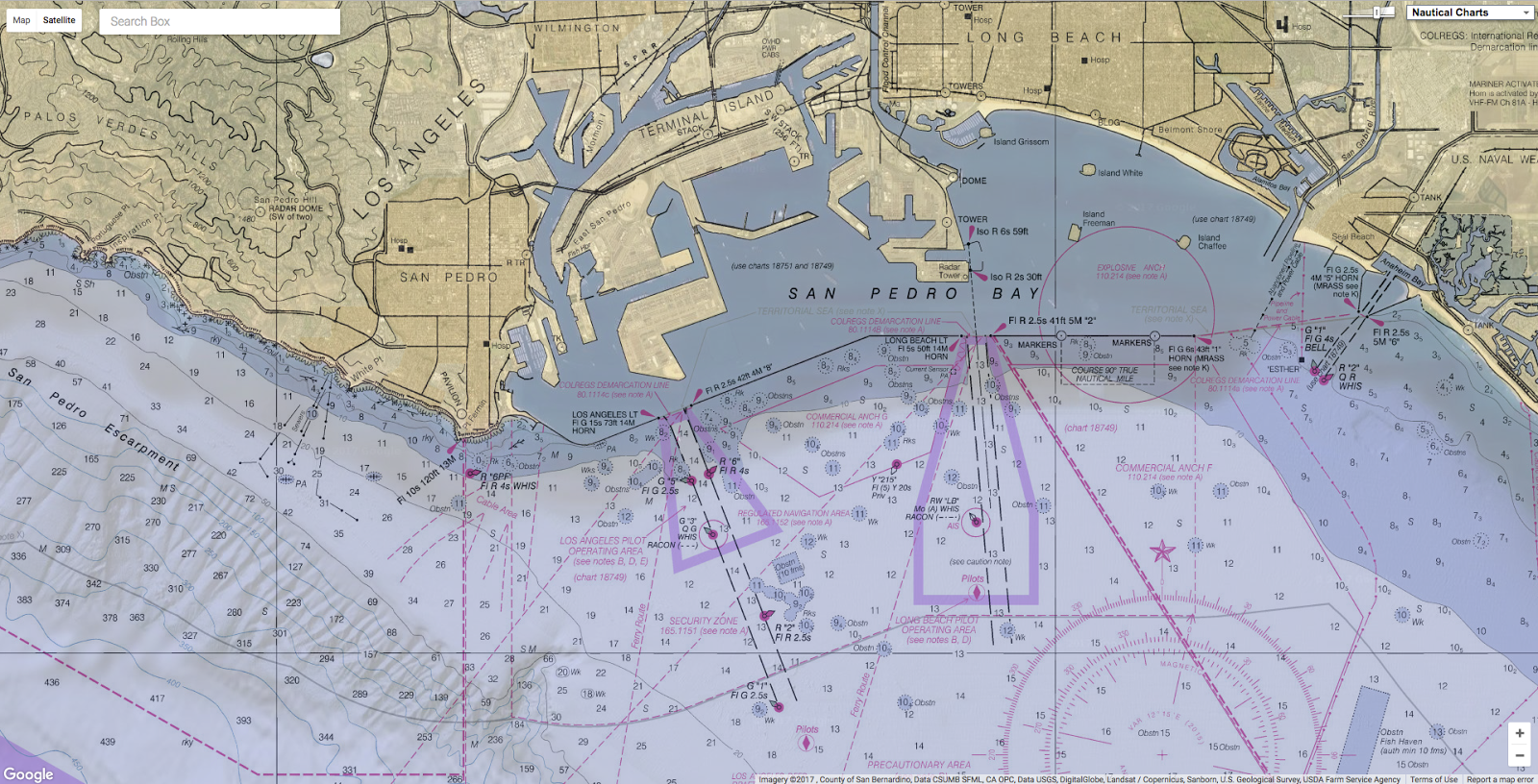 Geogarage Blog Why Nautical Charts Are Fun