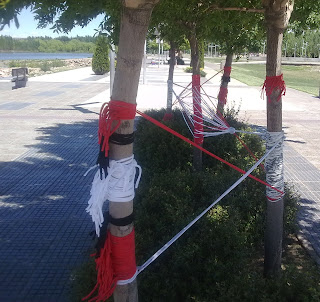 arte contemporaneo-intervencion artistica-patagonia-Neuquen-rio limay