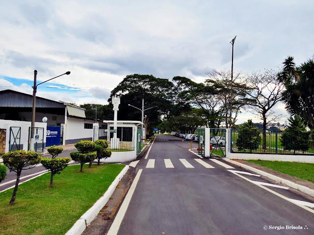 Vista da entrada principal do Aeroporto Campo de Marte - Bairro de Santana - São Paulo