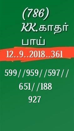 kerala lottery abc guessing akshaya AK-361 on 12.09.2018 by KK