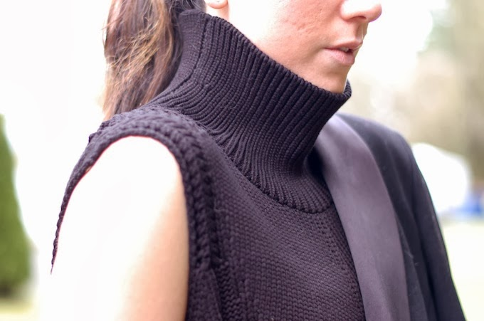 Helmut Lang turtleneck sweater