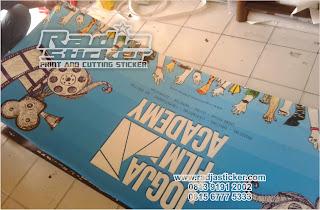 Print Indoor Stiker | Print Stiker | Print stiker ritrama orajet