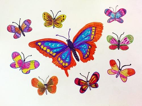 Hahazirah Kerja Kursus Pendidikan Seni Visual 2611 3 Part 1 Lukisan Terbang Bebas Rama