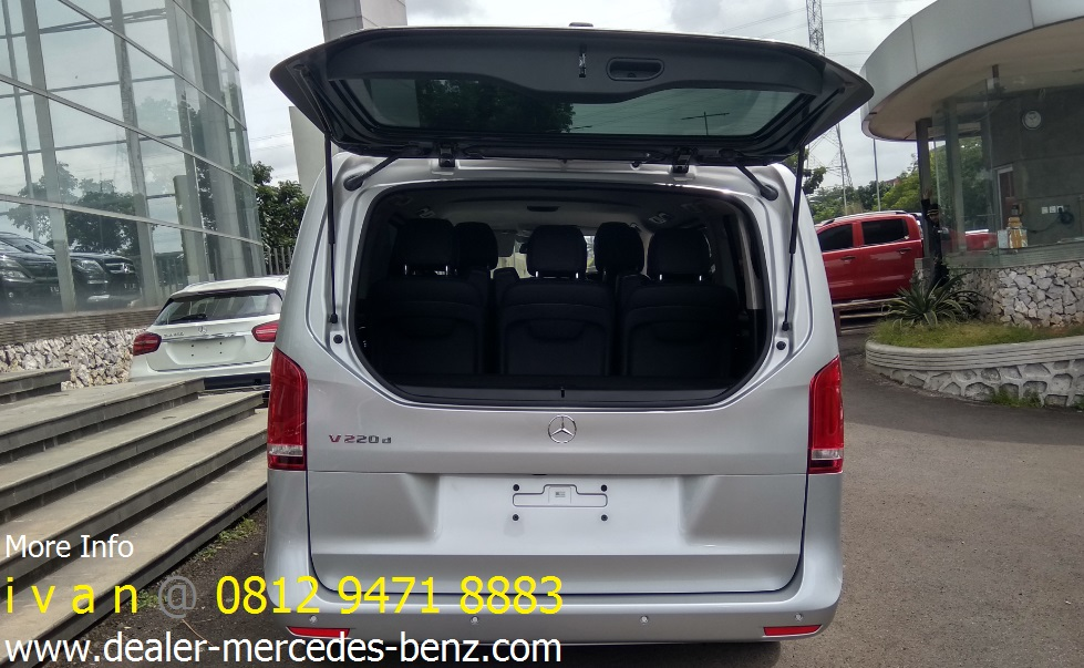 Harga promo mercedes benz v class v220d diesel 2017 for Mercedes benz service b coupons 2017