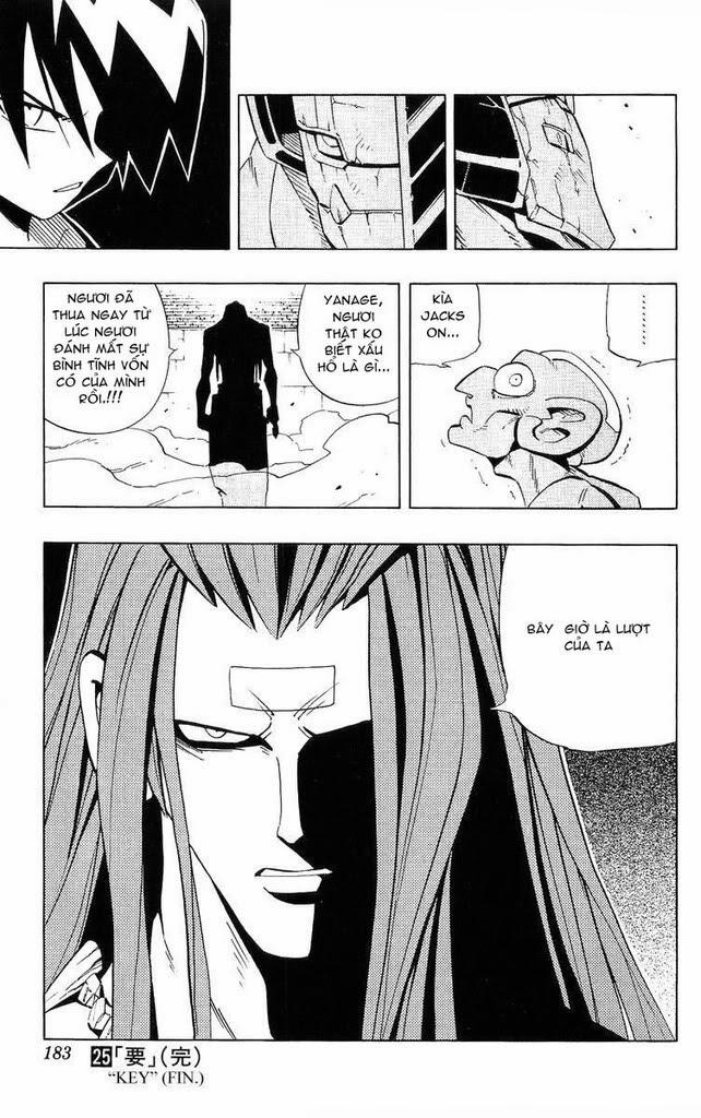 Shaman King [Vua pháp thuật] chap 224 trang 19