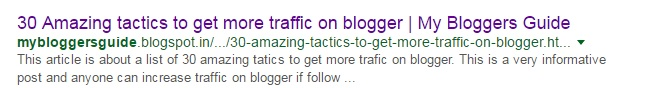 How to SEO Optimize Your Blogger Blog Titles For Higher Search Results