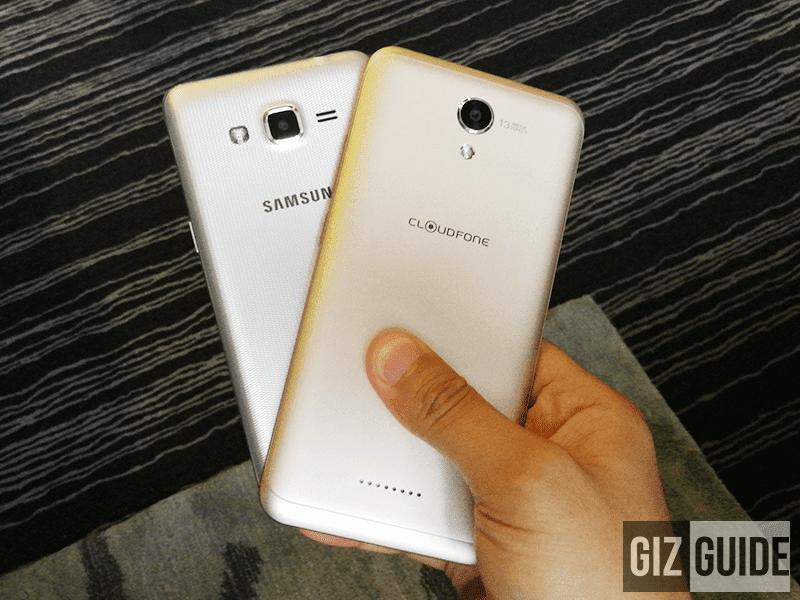 Design of the phones behind
