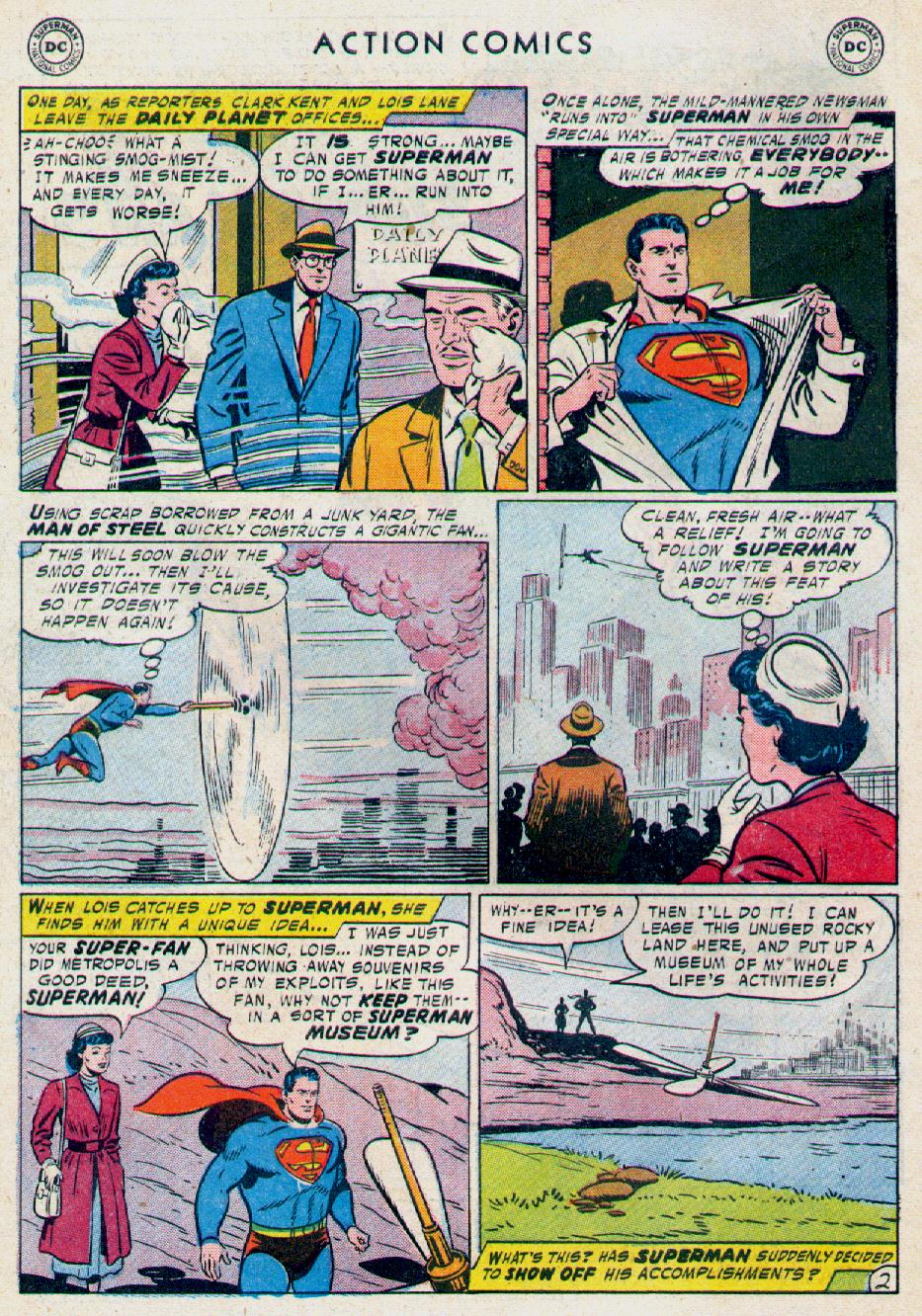 Read online Action Comics (1938) comic -  Issue #228 - 4