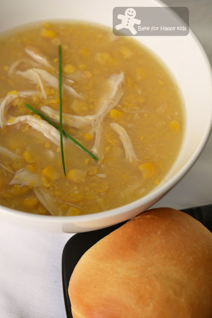 easy chicken creamed corn soup