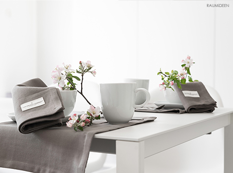 Wie kann ich Müll vermeiden? Meine nachhaltige Tischdekoration!