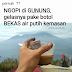 Kebiasaan Kurang Baik Ketika Mendaki, Memanfaatkan Botol Untuk Membuat Minuman dan Makanan Yang Panas