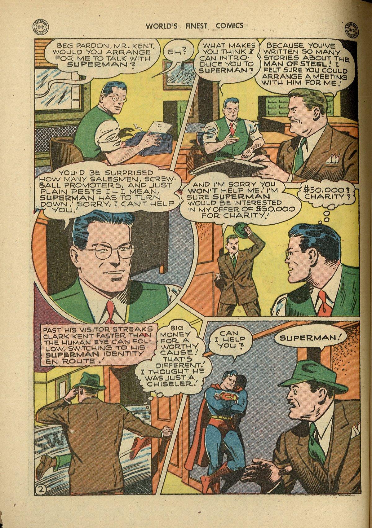 Read online World's Finest Comics comic -  Issue #26 - 4