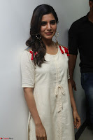 Samantha Ruth Prabhu Smiling Beauty in White Dress Launches VCare Clinic 15 June 2017 014.JPG