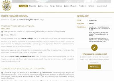 web sector funerario