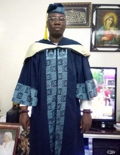 Gani Adams Adds another feather to his cap, Graduates From LASU