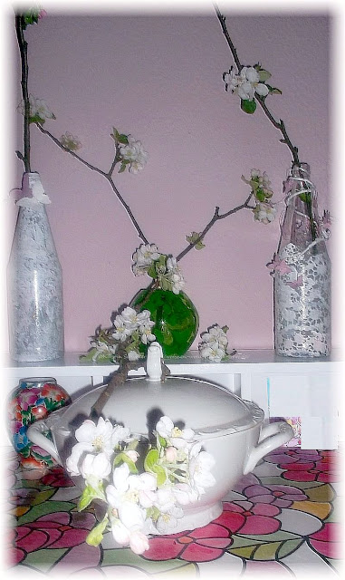 delikate Apfelblüten