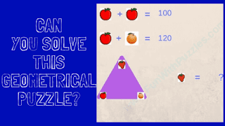 Can you solve these Geometrical and Algebra Puzzles