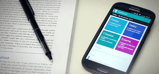 عمل جدول امتحانات للاندرويد ، تطبيق تسجيل الملاحظات ، تنظيم الوقت للطالب الجامعي