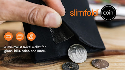 SlimFold Coin Travel Wallet