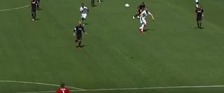 إبراهيموفيتش يسجل هدفين فى أول ظهور له مع لوس أنجلوس جلاكسى