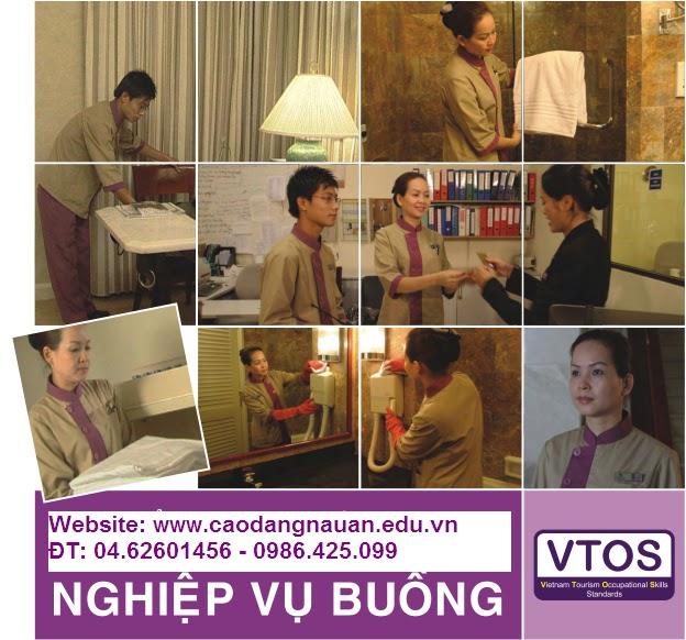 Nghiệp vụ Buồng [Tiêu chuẩn VTOS  - www.caodangnauan.edu.vn]