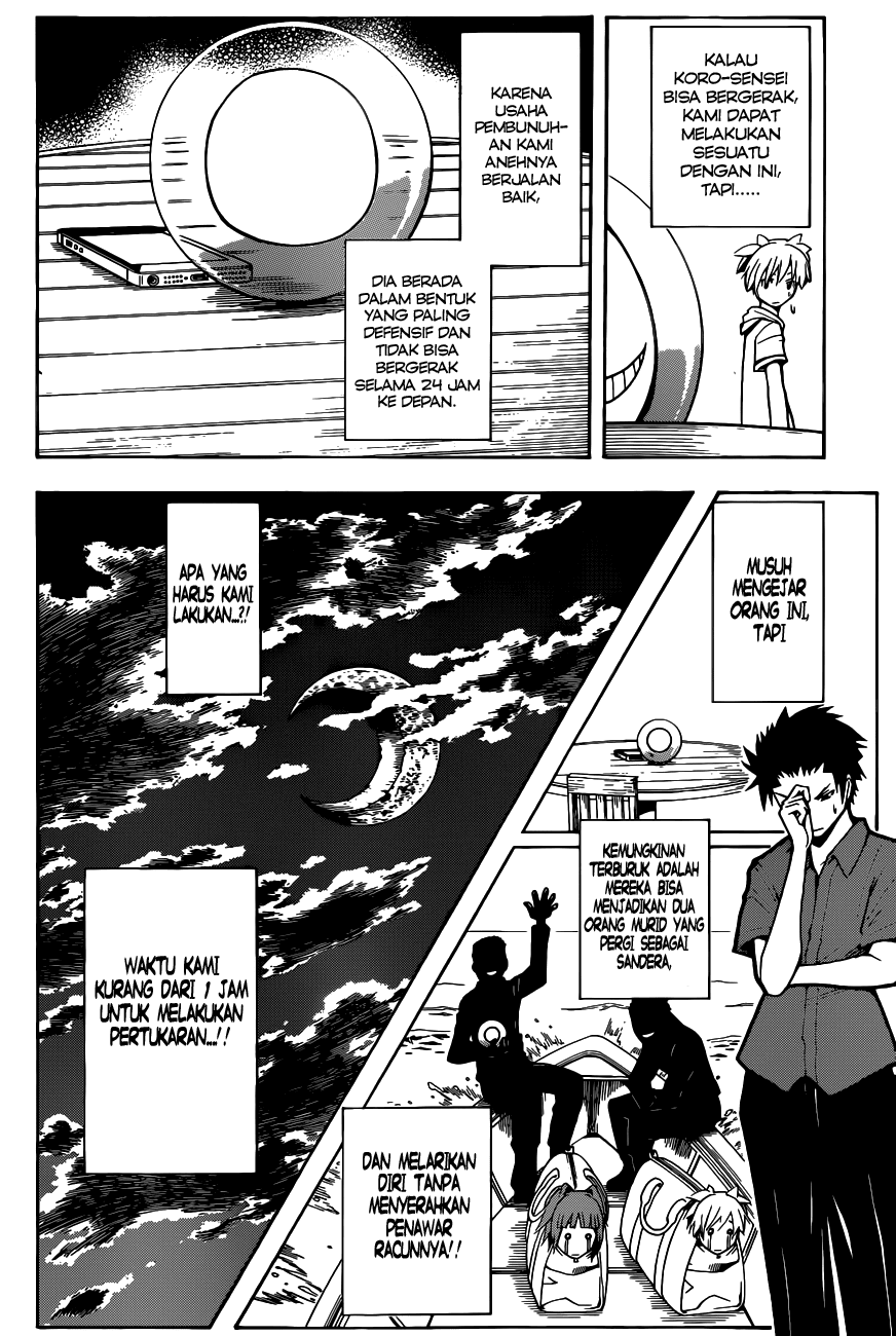 Komik assassination classroom 061 - waktunya iblis 62 Indonesia assassination classroom 061 - waktunya iblis Terbaru 10|Baca Manga Komik Indonesia|