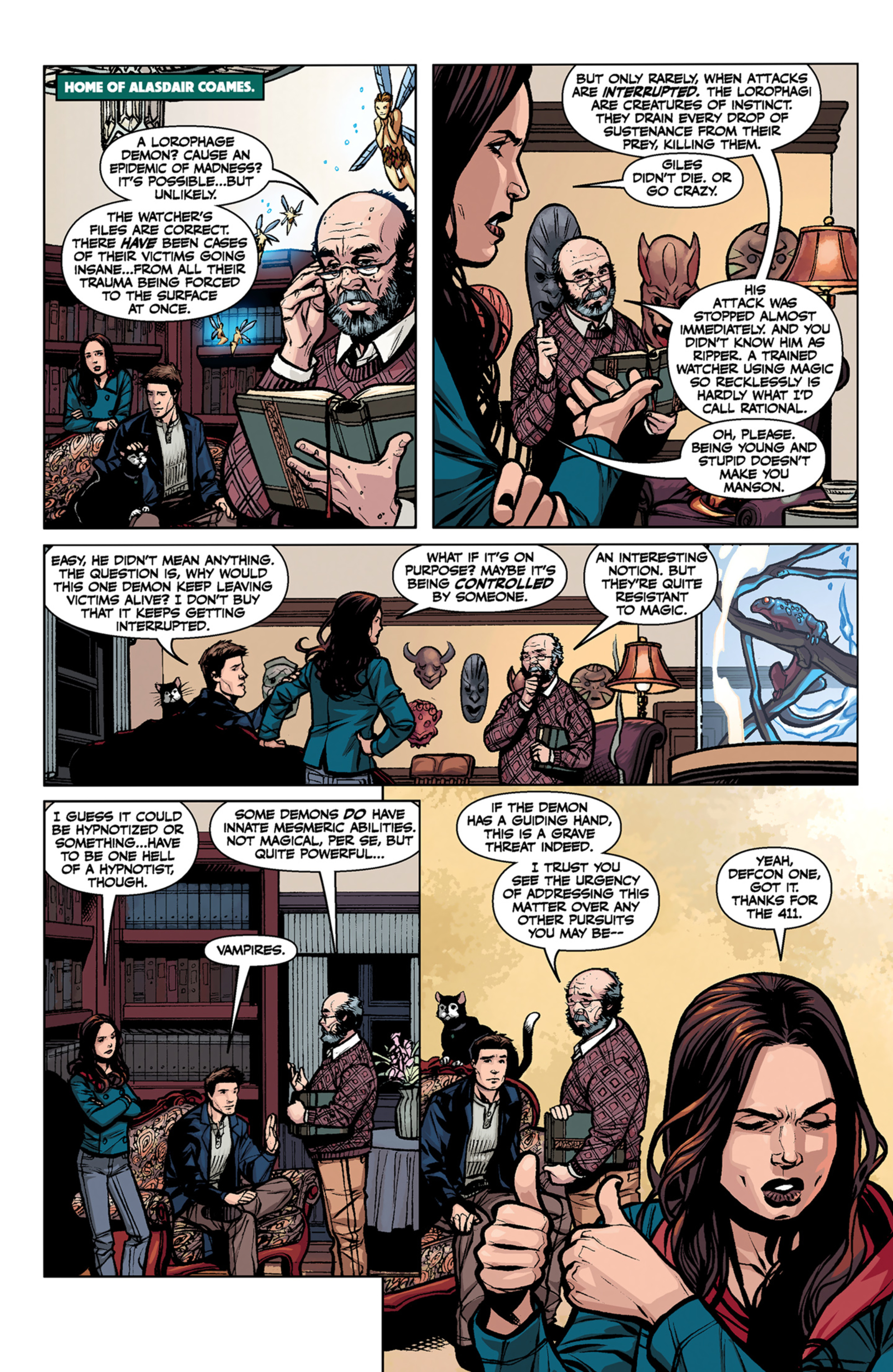 Read online Angel and Faith comic -  Issue #6 - 19