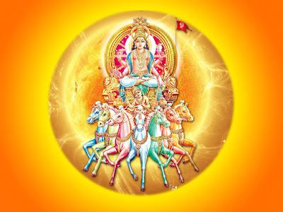 सूर्यार्घ्य मंत्र - Suryarghya Mantras...