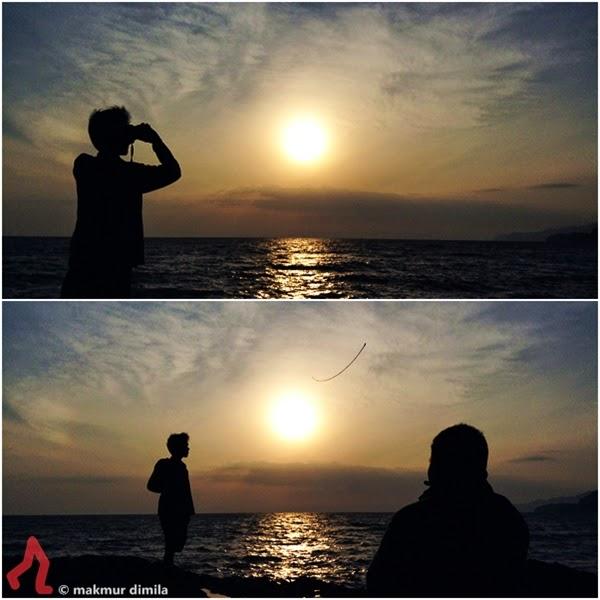 Amopon-dan-Cek-De-di-Pantai-Deumit