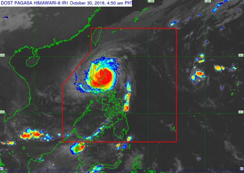 'Bagyong Rosita' makes landfall in Dinapigue, Isabela