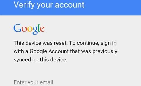 Lollipop google telah menerapkan sistem keamanan gres Cara Mudah Bypass Akun Google di Lenovo Android