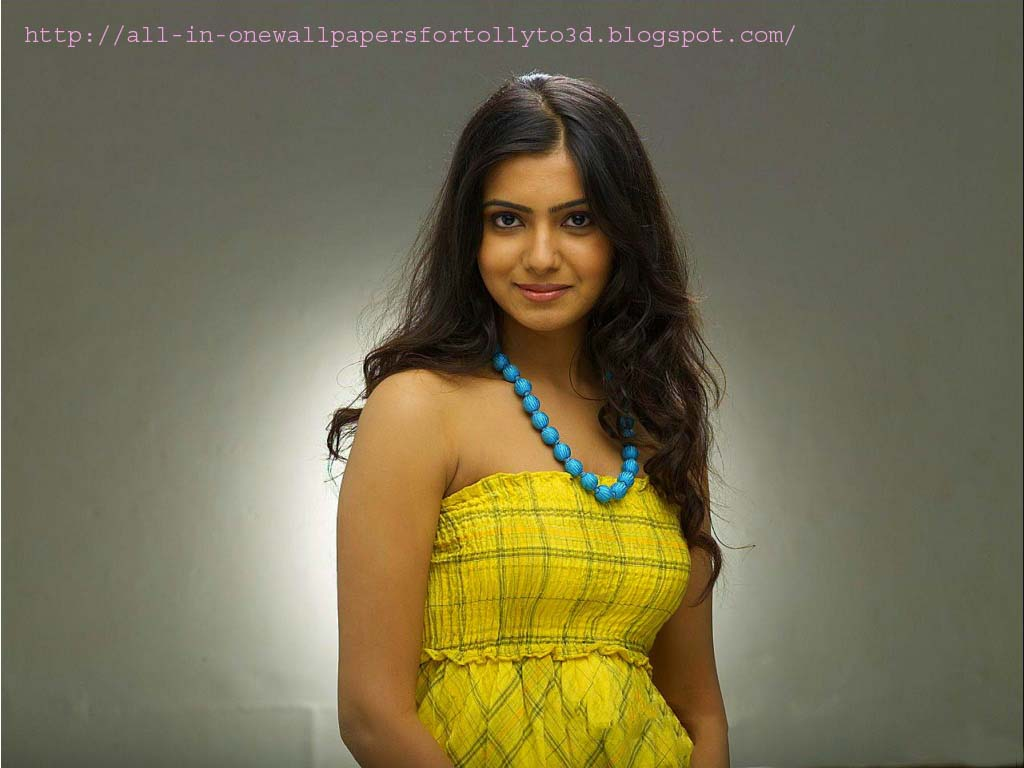 Telugu All Heroines Pictures Wallpapers: ALL-IN-ONE WALLPAPERS: Cute Telugu Actress Samantha Ruth