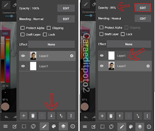 tutorial edit foto jadi kartun di android