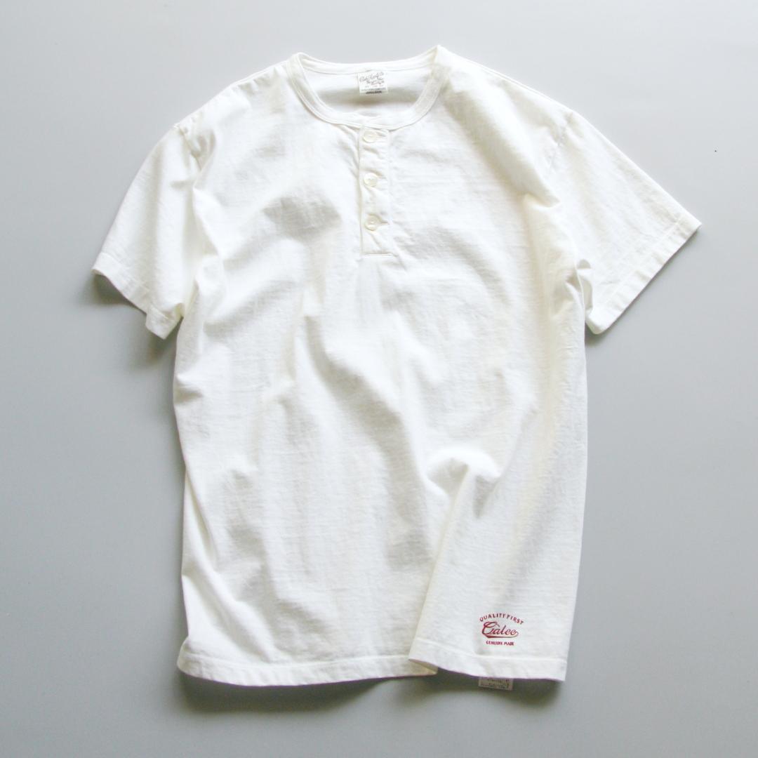 "Inner:CALEE ""Henley neck t-shirt"" Price:8,640yen"