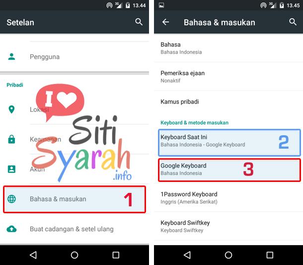 cara menghilangkan saran kata di bbm android
