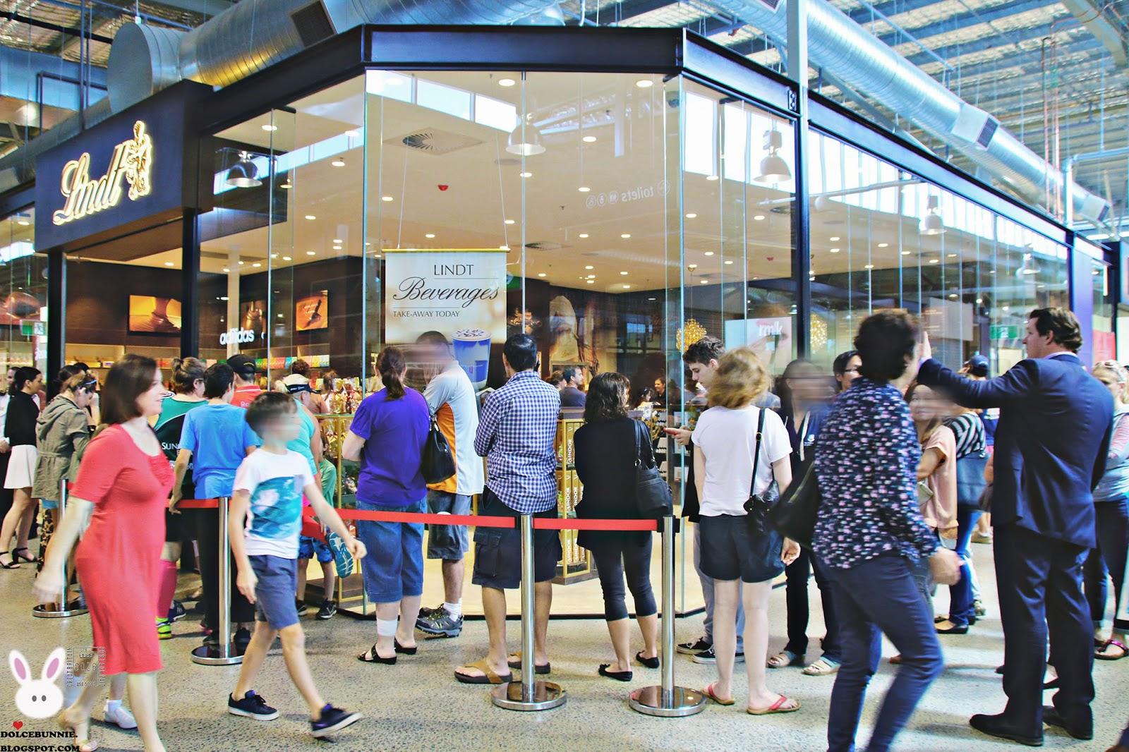 Lindt Chocolate Shop Opens At Dfo Brisbane Brisbane Airport Qld