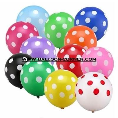 Balon Polkadot 12 Inchi 280 Gram