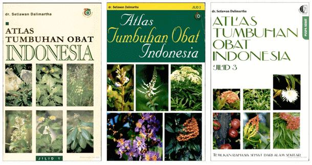 Buku Atlas Tumbuhan Obat Indonesia