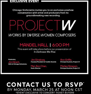 Chicago Sinfonietta: Preshow Event: Project W: Works by Diverse Women Composers