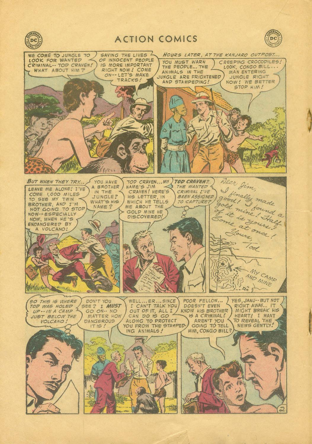 Read online Action Comics (1938) comic -  Issue #216 - 19