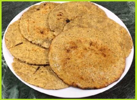जौ चने के आटे की रोटी रेसिपी - Jo Chana Roti Recipe in Hindi