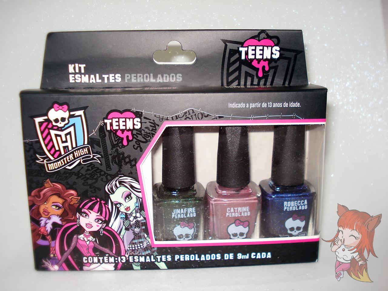 Esmalte Monster High :: Catrine - Resenha