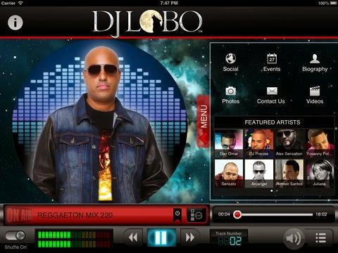Dj Lobo And His Amazing App