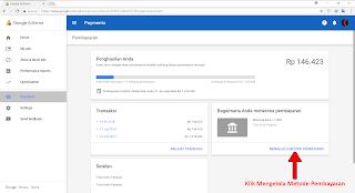 Langakh Langkah Menyiapkan Metode Pembayaran AdSense
