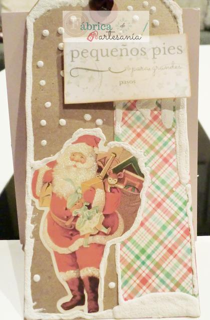 Tag Santa con regalos