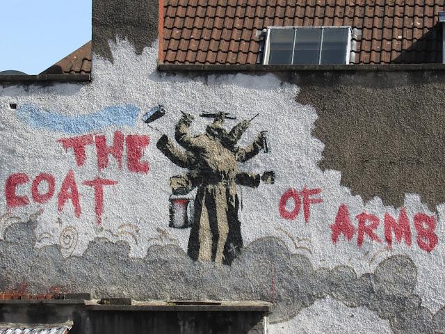 Maggie May City Guide to Bristol - Bristol Graffiti