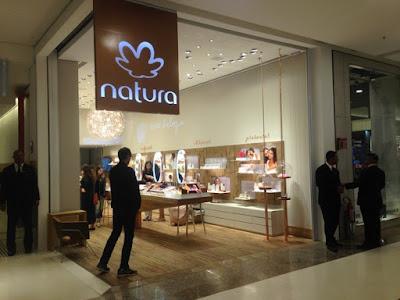 Loja da Natura no shopping Morumbi, em São Paulo